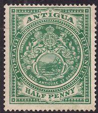 Antigua 1908 - 17 KEV11 1/2d Blue Green Mint No gum SG 42 ( C407 )