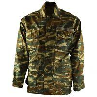 Original Greek army military combat camo field jacket NEW BDU Greece shirt