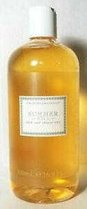 Crabtree Evelyn Summer Hill Bath and Shower Gel JUMBO 16.9 fl oz. New Rare & HTF