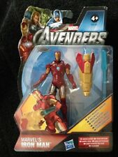 "MARVEL UNIVERSE The Avengers IRON MAN 4"" MOVIE Figure 18 Wrist Mounted Launcher"