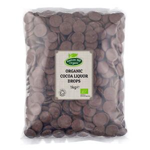 Organic Cocoa Liquor / Mass Drops 1kg Certified Organic
