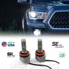 H11 SLF LED Fog Light Lamp Bulb 6000K 780LM Cool White Street Legal Pair