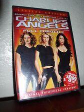 Charlie's Angels: Full Throttle starring Diaz, Barrymore, Liu (DVD,2003,Special