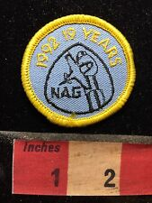 1992 NAG 19 Years - Airplane / Aircraft Related Patch 76X1