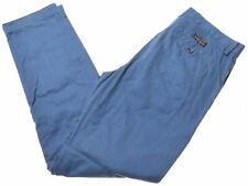 BANANA REPUBLIC Mens Chino Trousers W32 L32 Blue Cotton Emerson BS09