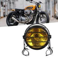 35W Scheinwerfer 28mm-45mm Universal mit Gitter Grill Motorrad ATV Roller Halter