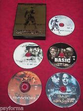 Coffret 5 DVD films de GUERRE / Basic / Dresden / Savior / Saints & Soldiers ...
