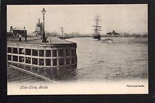 Goole - Tide Time - printed postcard
