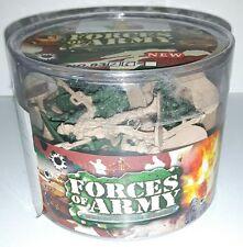 SOLDATINI DI PLASTICA Esercito Army Piombo Vintage da Collezione Miniature Toy