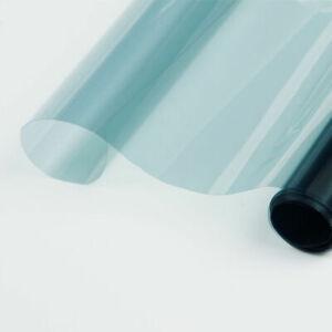 Window Tint VLT65% Glass Solar Film Light Blue Car Protection Tinting Home
