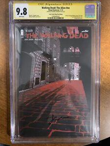 Walking Dead The Alien #nn - Robert Kirkman Signature - SS CGC 9.8
