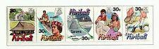 KIRIBATI 1995 YEAR OF TOURISM STRIP OF 5 MINT STAMPS