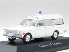 Volvo 145 Express Krankenwagen Rotes Kreuz Modellauto 95007 Atlas 1:43