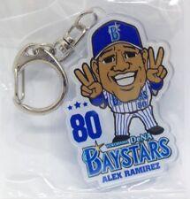 Japan Baseball Yokohama DeNA BayStars Acrylic Keychain - ALEX RAMIREZ