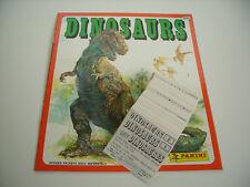 Panini: Dinosaurier - Dinosaurs, Stickersatz / Set ( 1-180 ) + Album, 1992 !!