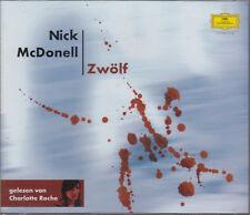 Nick McDonell Zwolf Twelve German 3CD Audio Book FASTPOST