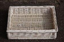 Wicker Tray Basket - GIFT basket - storage basket