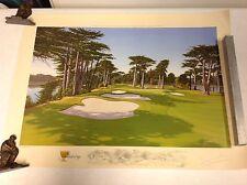 Official 2009 PRESIDENT'S CUP Graeme W. Baxter Ltd Ed Golf Print SAMPLE