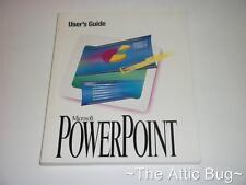 Microsoft PowerPoint User's Guide ~ softback BOOK