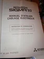Mitsubishi SIGMA 1993 : Schémas électriques