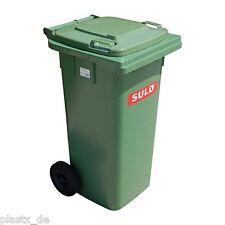 SULO Mülltonne 120L blau/grau/grün/gelb/rot/braun/orange/weiß