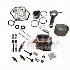 Honda GX160 OVERHAUL Cylinder Head Piston Rings Connecting Rod Oil Seals Gaskets