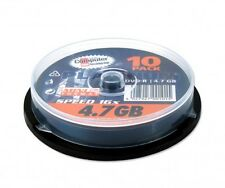 10 x Platinum DVD-R 4,7Gb 120 Min 16x Spindel