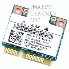 Dell Vostro Wireless N Card 1450 1540 1550 Mini PCI-e Half Height 13z 14 14R 15