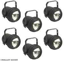 Lot of 6 - E-106-U Up Lighting  Wedding DJ 4-Color Reception Light FREE SHIPPING