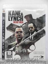 OCCASION: Jeu KANE & LYNCH DEAD MEN  PS3 playstation 3 action mercenaire et