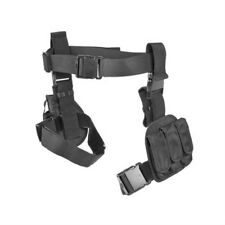 NcSTAR Airsoft 3 Pc Drop Leg Pistol Gun Holster Magazine Pouch Black CV2908