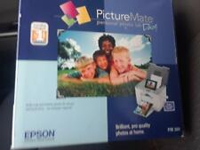 "New!  Epson Picture Mate Dash Personal Digital Photo Lab 3.6"" LCD Screen PM 260"