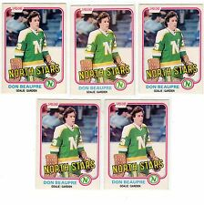 1X DON BEAUPRE 1981 82 OPC #159 RC Rookie EXMT O Pee Chee Lots Available