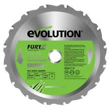 EVOLUTION FURY BLADE FURY 185mm REPLACEMENT SAW BLADE