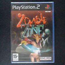 sealed ZOMBIE ZONE PlayStation 2 UK PAL English・♔・SAMURAI ONECHANBARA D3 new PS2
