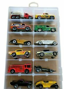 Vintage 1970s Hot Wheels Cars Black Wall Era Lot of 12 With Case (lot 3e)