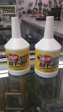 Red Line Oil Synthetic Manual Transmission Lubricant MT85 GL-4 75W85 (2 Quarts)