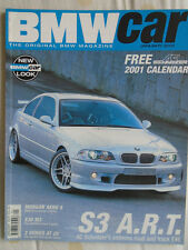 BMW Car Jan 2001 Morgan Aero 8, E30 M3, E46 S3 ART