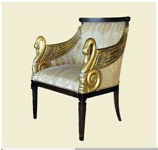 Fabric Antique Style Armchairs