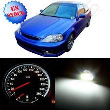 LED Kit Dashboard Gauge Cluster White Lights Bulbs for Honda Civic 1996-2000