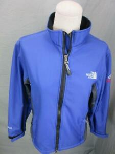 The North Face Size M Womens Purple Full Zip Fleece Lined Softshell Jacket T632