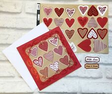 Valentines Day Card Making Kit For Husband / Wife Make Your Own Handmade Card