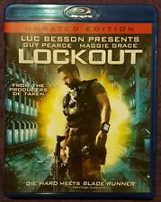 Lockout (Blu-ray Disc, 2012) like new  Guy Pearce Maggie Grace