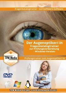 Augenoptiker Prüfungstrainer mit über 900 Fragen (WIN/MAC-OS/Linux)