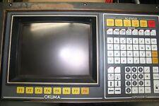 ~Okuma~Operating~Panel~LCD~Screen~Installed~OSP5000M~G~E0105~800~059~CRT~