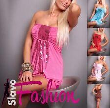 Markenlose Ärmellose Damenkleider aus Nylon