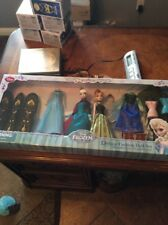 Disney frozen Elsa Anna deluxe fashion doll set 1st edition limited and rare