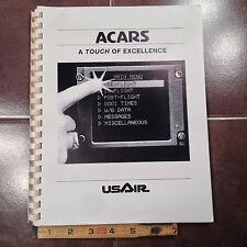 USAir ACARS Aircraft Com Addressing & Reporting System Pilots Guide.