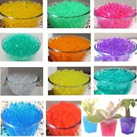 WHITE WATER AQUA SOIL CRYSTAL BIO GEL BALL BEADS WEDDING VASE FILLER CENTERPIECE