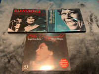 3 x Brand New And Sealed Ella Fitzgerald CD's